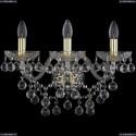 1409B/3/195/XL/G Хрустальное бра Bohemia Ivele Crystal