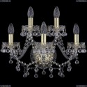 1409B/3+2/160/G Бра Bohemia Ivele Crystal (Богемия), 1409