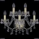 1409B/3+2/160/G Хрустальное бра Bohemia Ivele Crystal