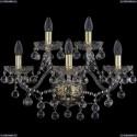 1409B/3+2/195/XL/G Хрустальное бра Bohemia Ivele Crystal