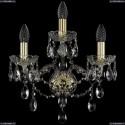 1415B/2+1/165/G Хрустальное бра Bohemia Ivele Crystal