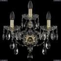 1415B/2+1/165/XL/G Хрустальное бра Bohemia Ivele Crystal