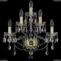 1415B/2+2+1/165/G Хрустальное бра Bohemia Ivele Crystal