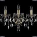 1415B/3/165/XL/G Хрустальное бра Bohemia Ivele Crystal