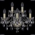 1415B/3+2/165/G Хрустальное бра Bohemia Ivele Crystal