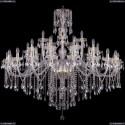 1415/20+10+5/530/G Хрустальная подвесная люстра Bohemia Ivele Crystal