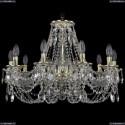 1606/10/240/GW Хрустальная подвесная люстра Bohemia Ivele Crystal