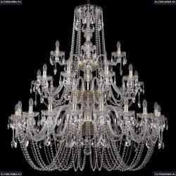 1402/20+10+5/460/3d/G Хрустальная подвесная люстра Bohemia Ivele Crystal