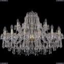 1403/16+8/360/G Хрустальная подвесная люстра Bohemia Ivele Crystal
