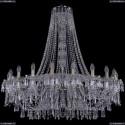 1403/20/400/h-114/Pa Хрустальная подвесная люстра Bohemia Ivele Crystal