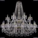 1403/20+10/400/2d/G Хрустальная подвесная люстра Bohemia Ivele Crystal