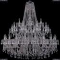 1403/20+10+5/400/2d/Ni Хрустальная подвесная люстра Bohemia Ivele Crystal