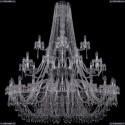 1403/20+10+5/530/3d/Ni Хрустальная подвесная люстра Bohemia Ivele Crystal