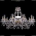 1411/10/360-66/G Хрустальная подвесная люстра Bohemia Ivele Crystal (Богемия)