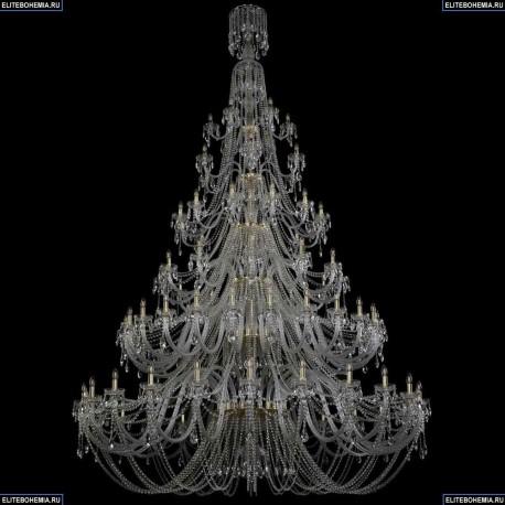 1406/24+24+12+12+6+6/900/XL-370/6d/G Хрустальная подвесная люстра Bohemia Ivele Crystal