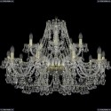 1409/10+5/360/G Подвесная люстра Bohemia Ivele Crystal (Богемия), 1409