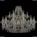1409/12+6/300/2d/G Подвесная люстра Bohemia Ivele Crystal (Богемия), 1409