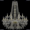 1409/12+6/300/h-95/G Подвесная люстра Bohemia Ivele Crystal (Богемия), 1409