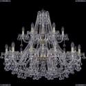 1409/12+6/360/2d/G Хрустальная подвесная люстра Bohemia Ivele Crystal