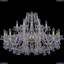 1409/12+6/360/G Подвесная люстра Bohemia Ivele Crystal (Богемия), 1409