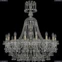 1409/16/300/XL-96/Pa Подвесная люстра Bohemia Ivele Crystal (Богемия), 1409