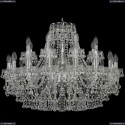 1409/16+8/300/Ni Подвесная люстра Bohemia Ivele Crystal (Богемия), 1409