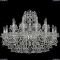 1409/16+8/300/Ni Хрустальная подвесная люстра Bohemia Ivele Crystal