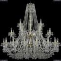 1409/16+8+4/460/2d/G Подвесная люстра Bohemia Ivele Crystal (Богемия), 1409