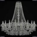 1409/20/400/h-113/Ni Хрустальная подвесная люстра Bohemia Ivele Crystal