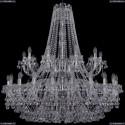 1409/20+10/400/2d/Ni Хрустальная подвесная люстра Bohemia Ivele Crystal
