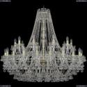 1409/20+10/400/G Подвесная люстра Bohemia Ivele Crystal (Богемия), 1409