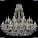 1409/20+10/400/G Хрустальная подвесная люстра Bohemia Ivele Crystal