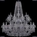 1409/20+10+5/400/2d/Ni Хрустальная подвесная люстра Bohemia Ivele Crystal
