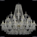 1409/20+10+5/400/G Подвесная люстра Bohemia Ivele Crystal (Богемия), 1409