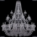 1409/20+10+5/530/3d/Ni Хрустальная подвесная люстра Bohemia Ivele Crystal