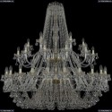 1409/24+12+6/530/2d/G Подвесная люстра Bohemia Ivele Crystal (Богемия), 1409