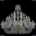 1409/24+12+6/530/G Подвесная люстра Bohemia Ivele Crystal (Богемия), 1409