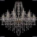 1415/16+8/400/G Хрустальная подвесная люстра Bohemia Ivele Crystal