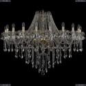 1415/20/400/G Хрустальная подвесная люстра Bohemia Ivele Crystal