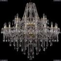 1415/20+10/400/2d/G Хрустальная подвесная люстра Bohemia Ivele Crystal