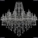 1415/20+10/400/Ni Хрустальная подвесная люстра Bohemia Ivele Crystal