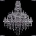 1415/20+10+5/400/2d/Ni Хрустальная подвесная люстра Bohemia Ivele Crystal