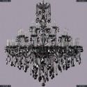 1415/20+10+5/400/Ni/M781 Хрустальная подвесная люстра Bohemia Ivele Crystal