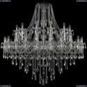 1415/24+12/530/Ni Хрустальная подвесная люстра Bohemia Ivele Crystal