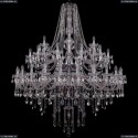 1415/24+12+6/530/2d/Ni Хрустальная подвесная люстра Bohemia Ivele Crystal