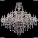 1415/24+12+6/530/G Хрустальная подвесная люстра Bohemia Ivele Crystal