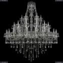1415/24+12+6/530/Ni Хрустальная подвесная люстра Bohemia Ivele Crystal