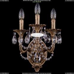 1702B/2+1/UP125IV+150/C/FP Хрустальное бра Bohemia Ivele Crystal