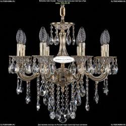 1702/8/CK175IV/B/GW Хрустальная подвесная люстра Bohemia Ivele Crystal