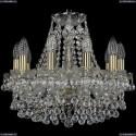 1409/10/141/Pa Хрустальная подвесная люстра Bohemia Ivele Crystal